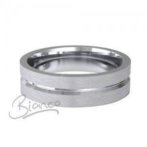 Palladium Wedding Ring Amore Pattern 3 to 6mm Flat Court Medium