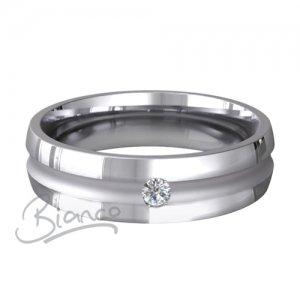 Palladium Court Diamond Wedding Rings Encanto Pattern 4 to 6mm