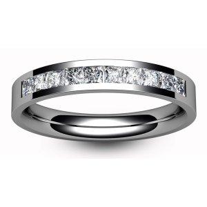 All Half Eternity Diamond Rings - 18ct White Gold