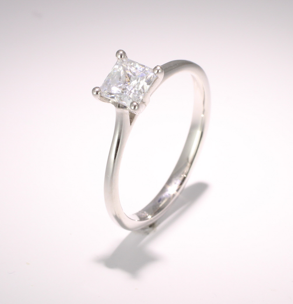 Engagement Ring Solitaire (TBC141) - GIA Certificate - All Metals