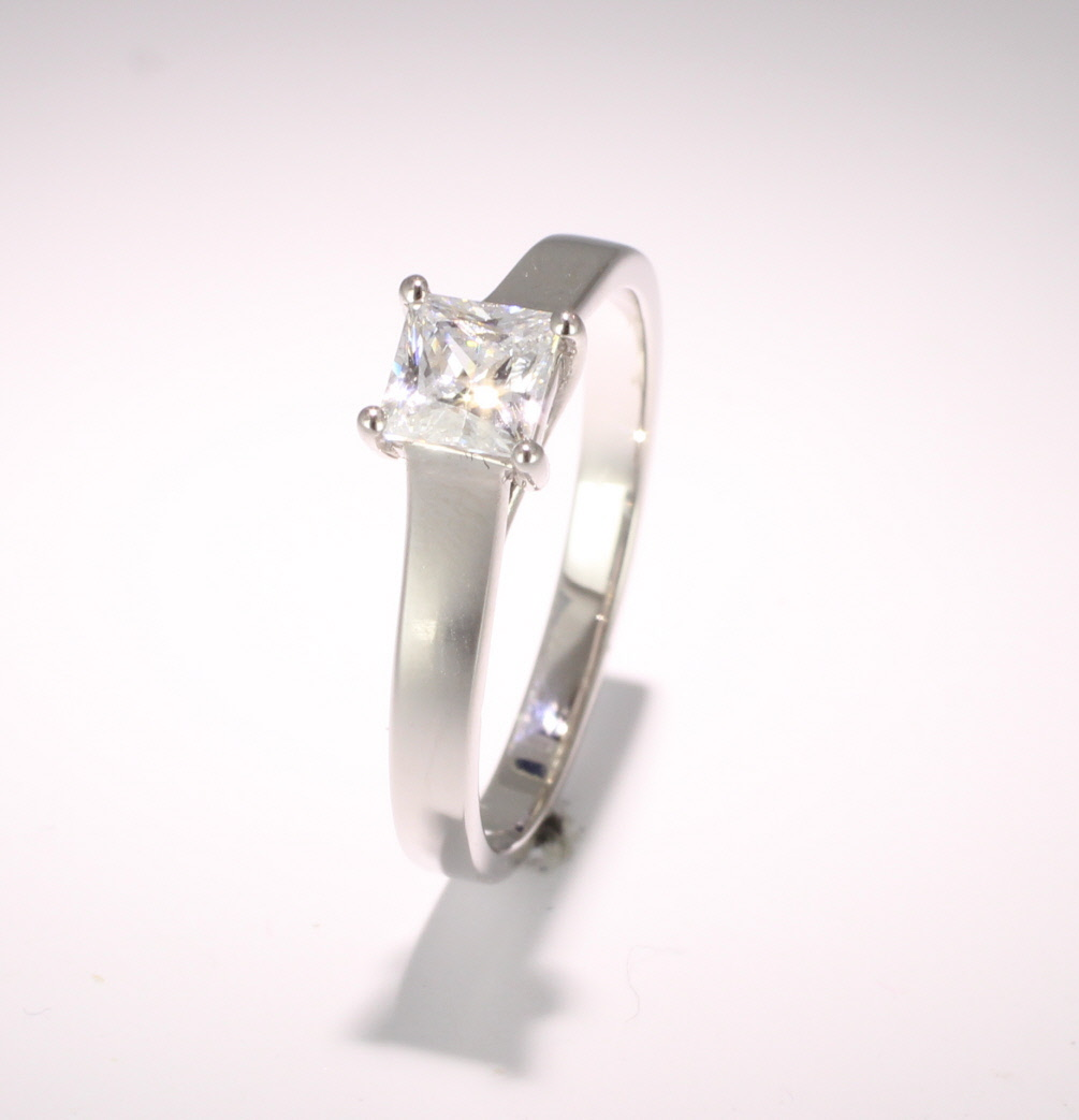 Diamond Solitaire Engagement Ring - GIA Certificate - All Metals