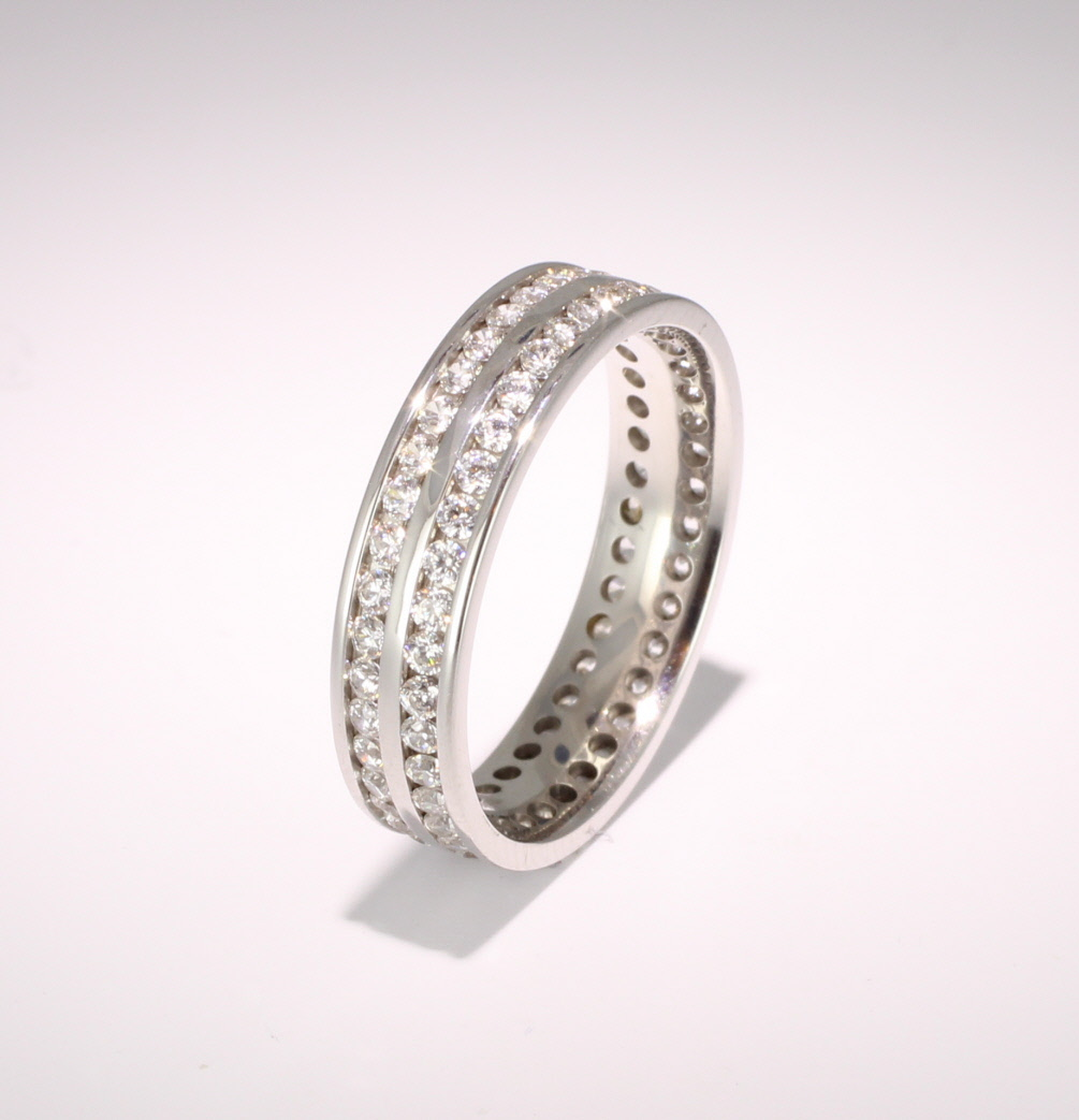 Eternity Ring (TBC1020F) - Full Channel Set - All  Metals