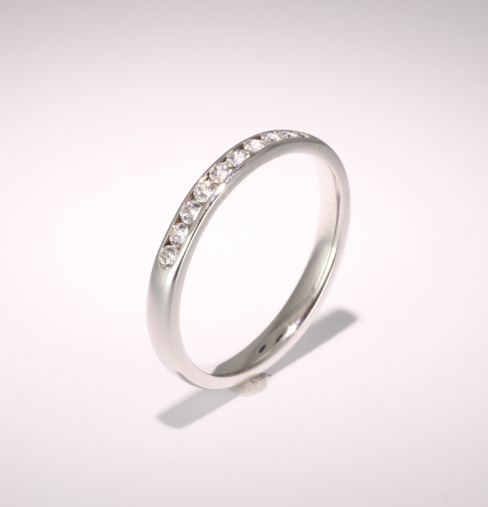 Eternity Ring (SRTCH) - All Metals - Ten Stone Channel Set