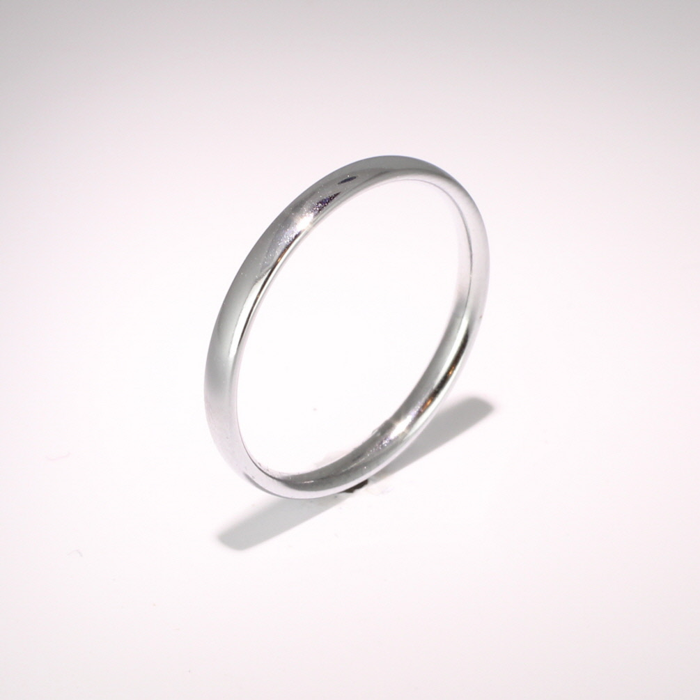 Court Light Weight -   2mm (TCSL2PAL) Palladium Wedding Ring Ladies