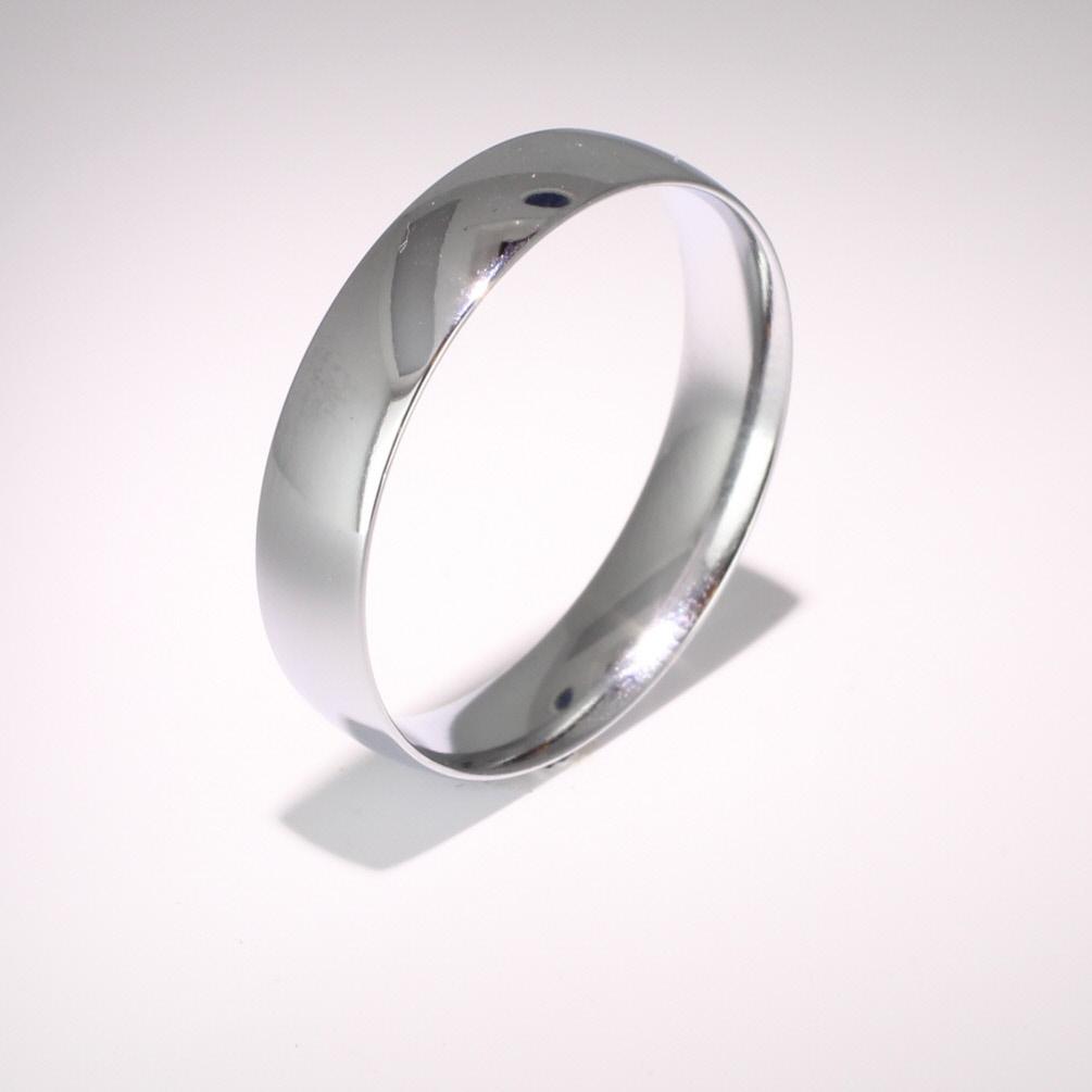 Court Light Weight -  4mm (TCSL4PAL) Palladium Wedding Ring