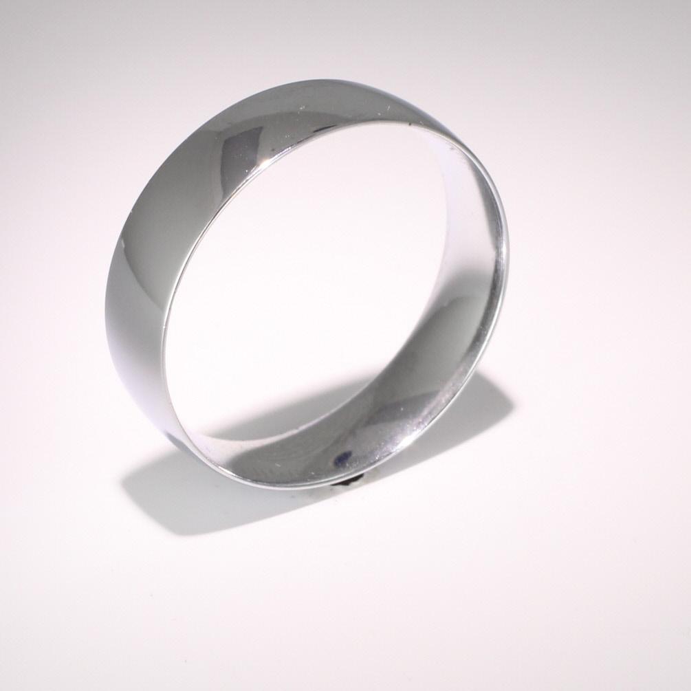 Court Light Weight -  6mm (TCSL6PAL) Palladium Wedding Ring Men