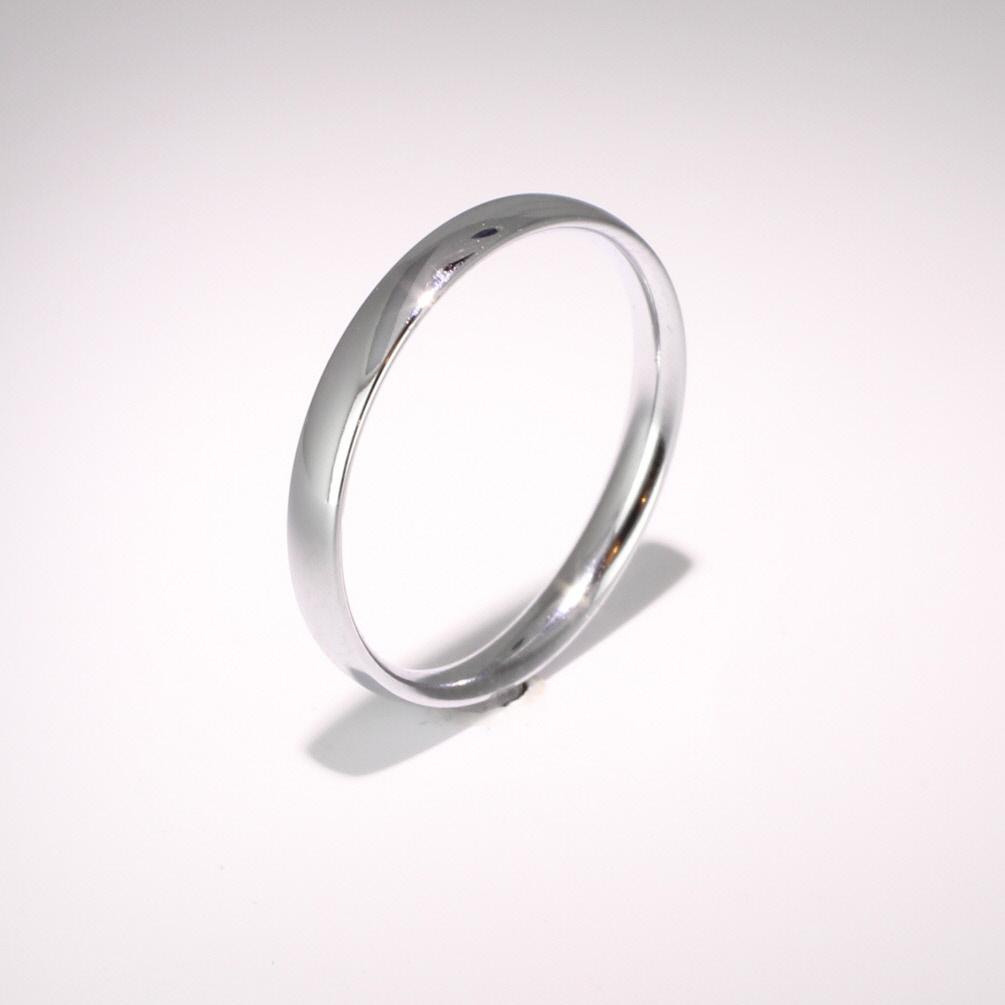 Court Light - 2.5mm (TCSL2.5) Platinum Wedding Ring