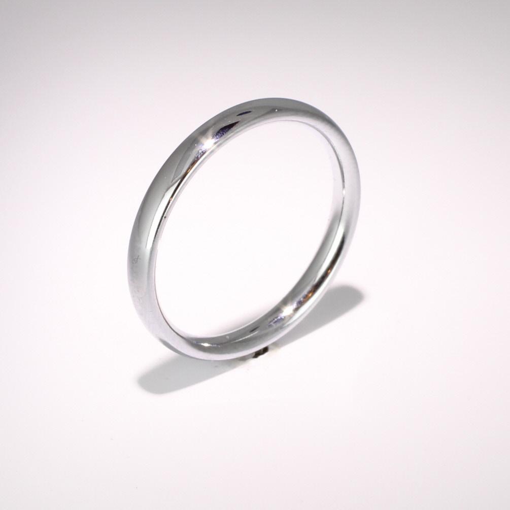 Court Medium - 2.5mm (TCSM2.5P) Platinum Wedding Ring