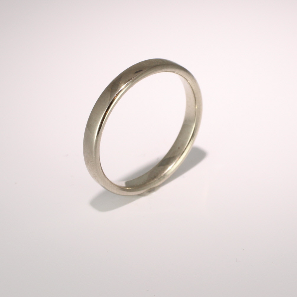 Slight or Soft Court Light -   2.0mm (SCSL2PAL) Palladium Wedding Ring