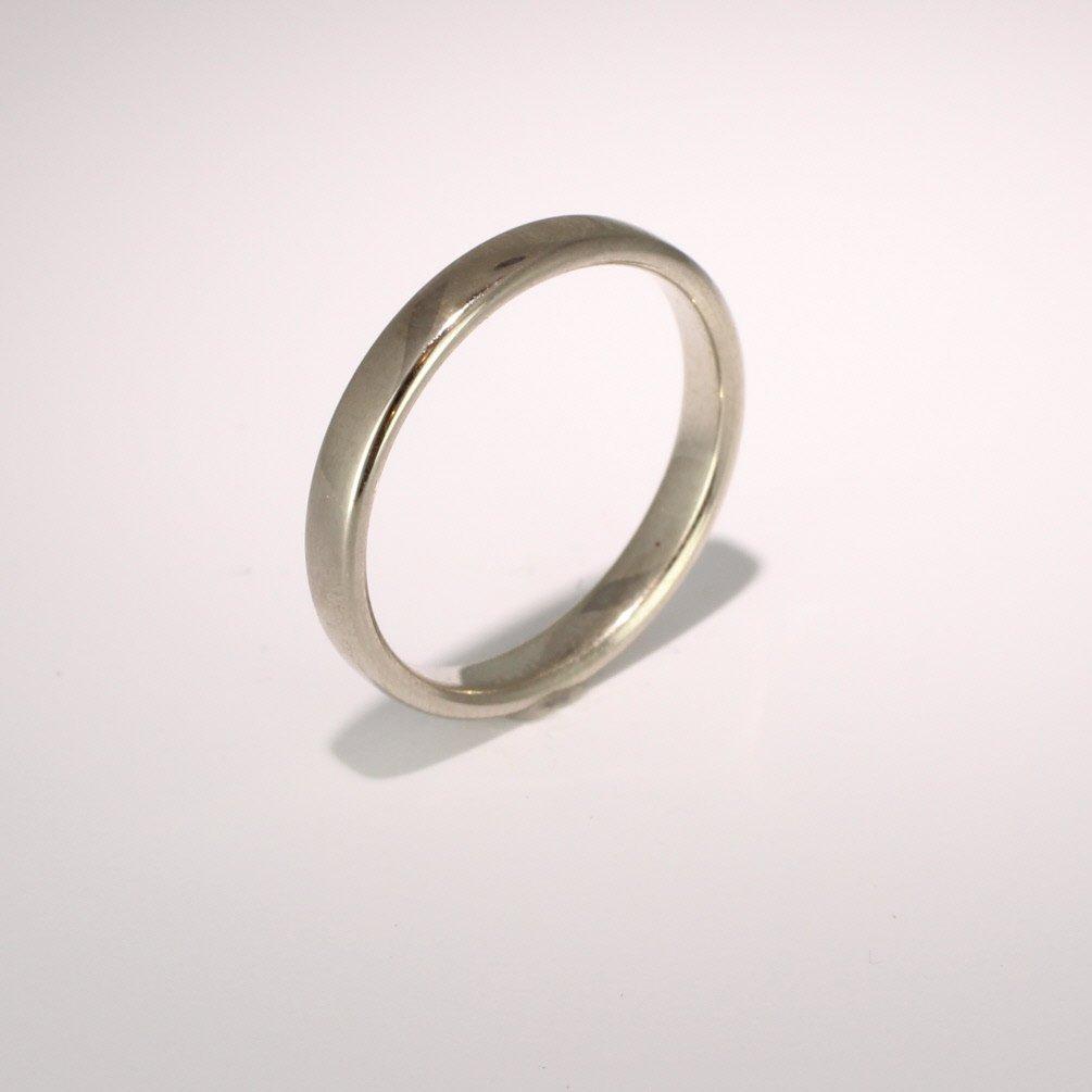Slight or Soft Court Light -   2.0mm (SCSL2PAL) Palladium Wedding Ring