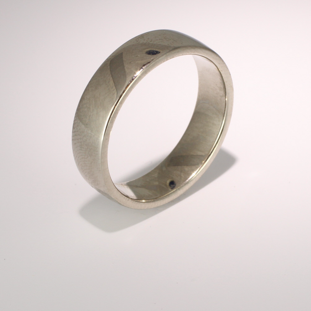 Slight or Soft Court Medium - 6mm (SCSM6PAL) Palladium Wedding Ring