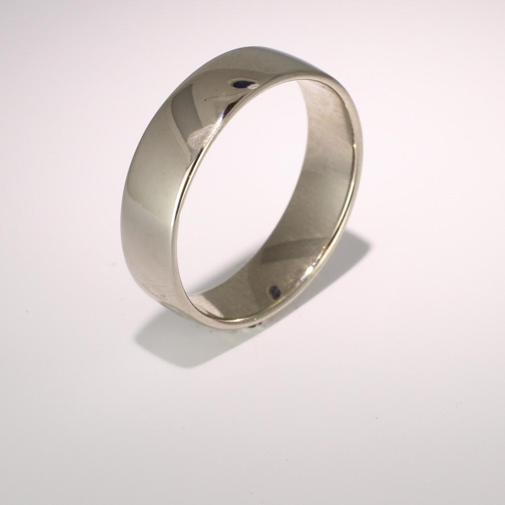 Soft Court Light - 6mm (SCSL6) 18ct White Gold Wedding Ring