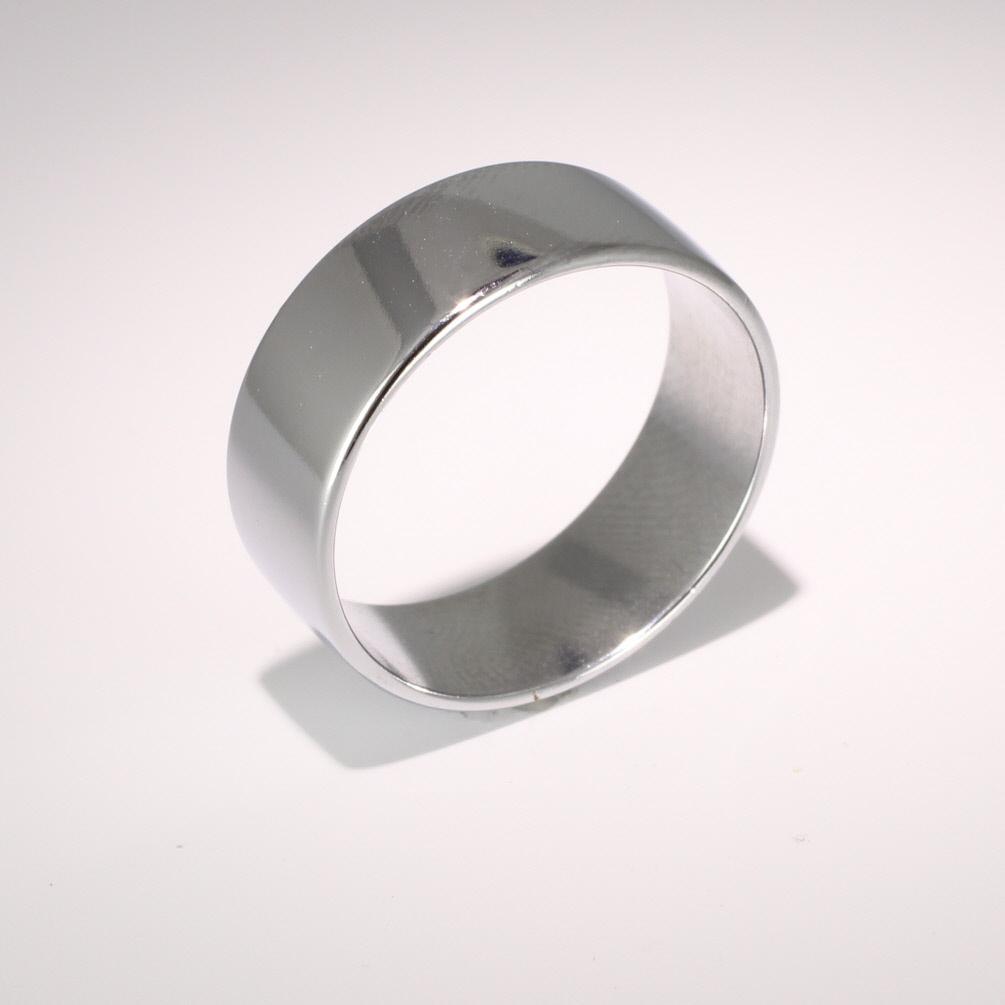 Soft Court Light - 8mm (SCSL8) 18ct White Gold Wedding Ring