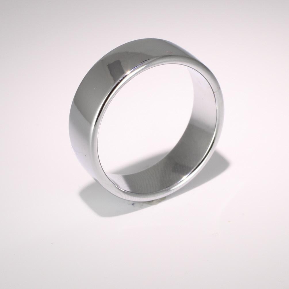 Soft Court Medium - 7mm (SCSM7) 18ct White Gold Wedding Ring