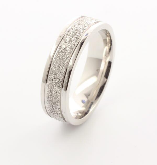 Pasion 3 to 6mm Court 18ct White Gold Diamond Wedding Ring