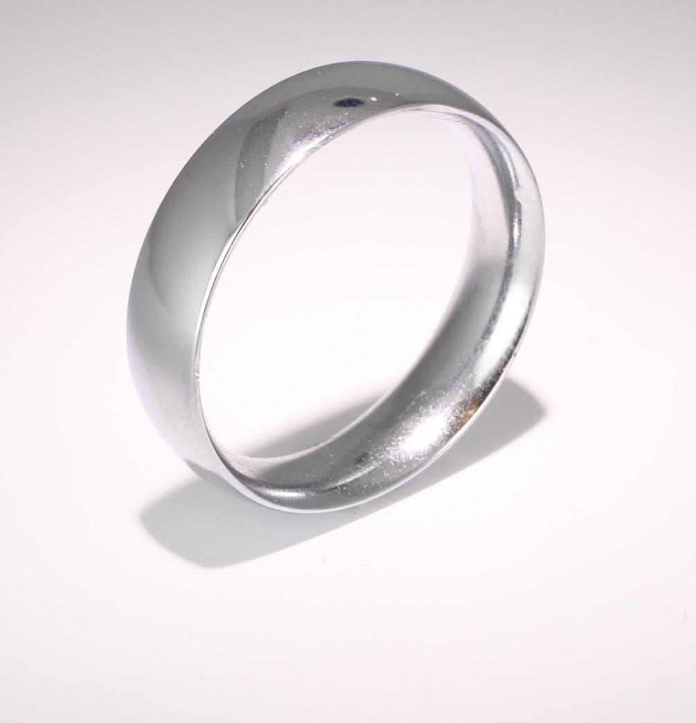 Court Traditional Heavy - 6mm (TCH6PAL) Palladium Wedding Ring