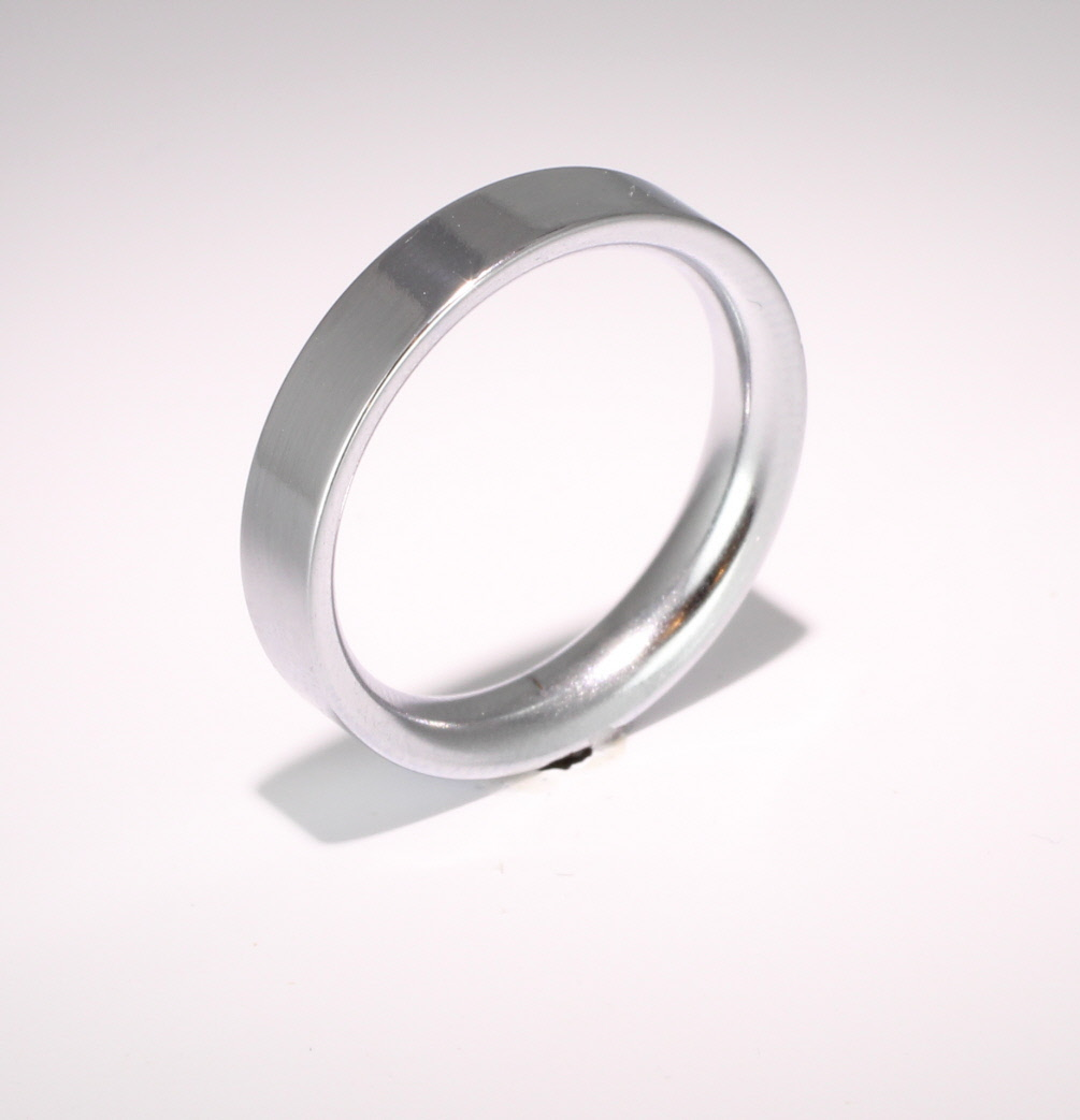 Flat Court Very Heavy - 4mm (FCH4PAL) Palladium Wedding Ring