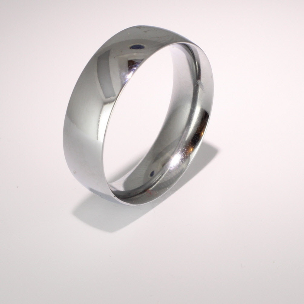 Traditional Court Heavy - 7mm (TCH7P) Platinum Wedding Ring