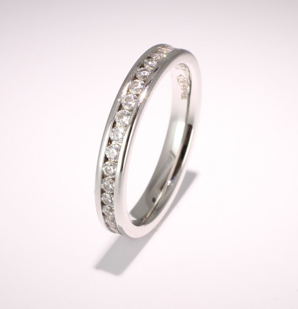 Eternity Ring (TBC1012F) - Full Channel Set - All Metals