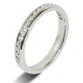 9c White 0.30 Carat HSI Diamond Eternity Style Ladies Wedding Ring - Popular Design