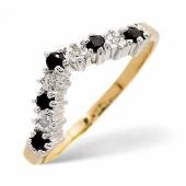 Sapphire & Diamond Rings