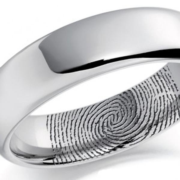 Flat Court Medium 8mm FCSM8P Platinum Wedding Ring FCSM8P