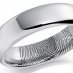 Palladium Wedding Ring Flat Court Medium  - Light - 6mm