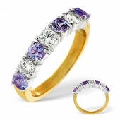 Tanzanite & Diamond Rings
