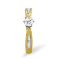 Diamond Ring 0.40 carat - 9ct Yellow Gold Eternity
