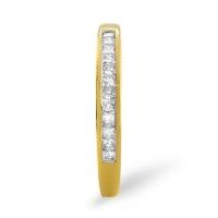 Diamond Ring 0.24 carat - 9ct Yellow Gold Eternity Ring