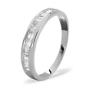 Diamond Ring 0.33 carat - 18ct White Gold Eternity