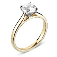 Engagement Ring Solitaire (TBC2016) - GIA Certificate -  All Metals