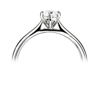 Engagement Ring Solitaire (TBC2203) - GIA Certificate - All Metals