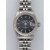 Pre-owned - Rolex Datejust Black Dial 69174 Ladies