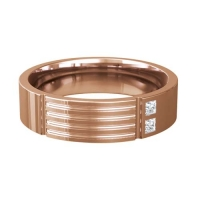 Diamond Wedding Ring - All Metals - Extollo