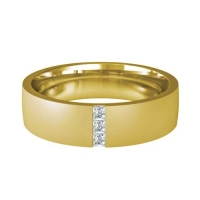 Diamond Wedding Ring - All Metals - Prezioso