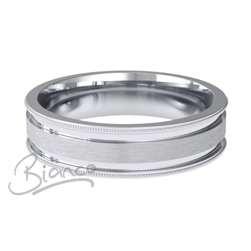 Special Designer Palladium Wedding Ring Espacio