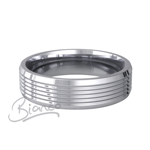 Special Designer Platinum Wedding Ring Armonice (Plat or Pall)