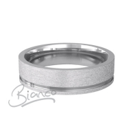Eterno 4 to 6mm Medium Flat Court Palladium Wedding Ring