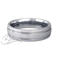 Patterned Designer Platinum Wedding Ring Dedique
