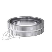 Special Designer Platinum Wedding Ring Orbite (Plat or Pall)