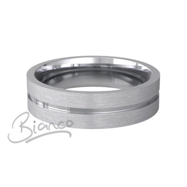 Palladium Flat Court Wedding Rings Carezza Pattern 3 To 6mm Carezza Pal