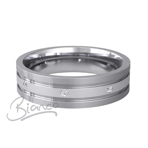 Special Designer Palladium Wedding Ring Diligo