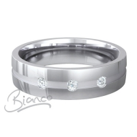 Special Designer Platinum Wedding Ring Belleza  (Plat or Pall)