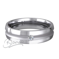 Special Designer Palladium Wedding Ring Encanto