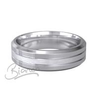 Patterned Designer Platinum Wedding Ring Pietas