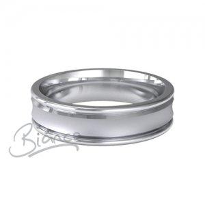 Patterned Designer Platinum Wedding Rings - The Beautiful Company