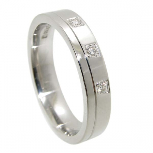 Diamond Wedding Ring TBC5012-3D - All Metals
