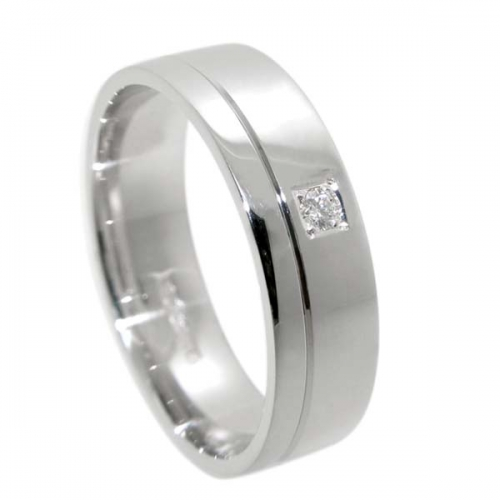 Diamond Wedding Ring TBC5012 - All Metals