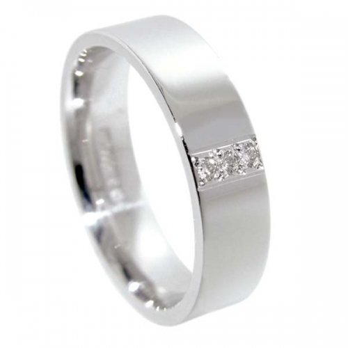 Diamond Wedding Ring TBC5048 - All Metals